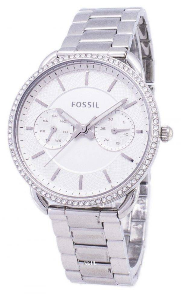 Fossil Tailor Multifunction Quartz Diamond Accents ES4262 Women's Watch