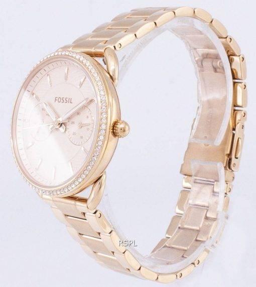 Fossil Tailor Multifunction Quartz Diamond Accents ES4264 Women's Watch