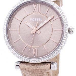 Fossil Carlie Three-Hand Sand Quartz Diamond Accents ES4343 Women's Watch
