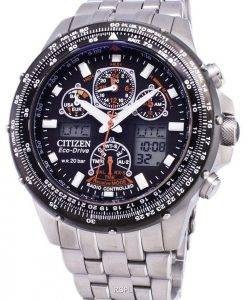 Citizen Promaster Eco-Drive Power Reserve Radio Controlled 200M JY0030-52E Men's Watch