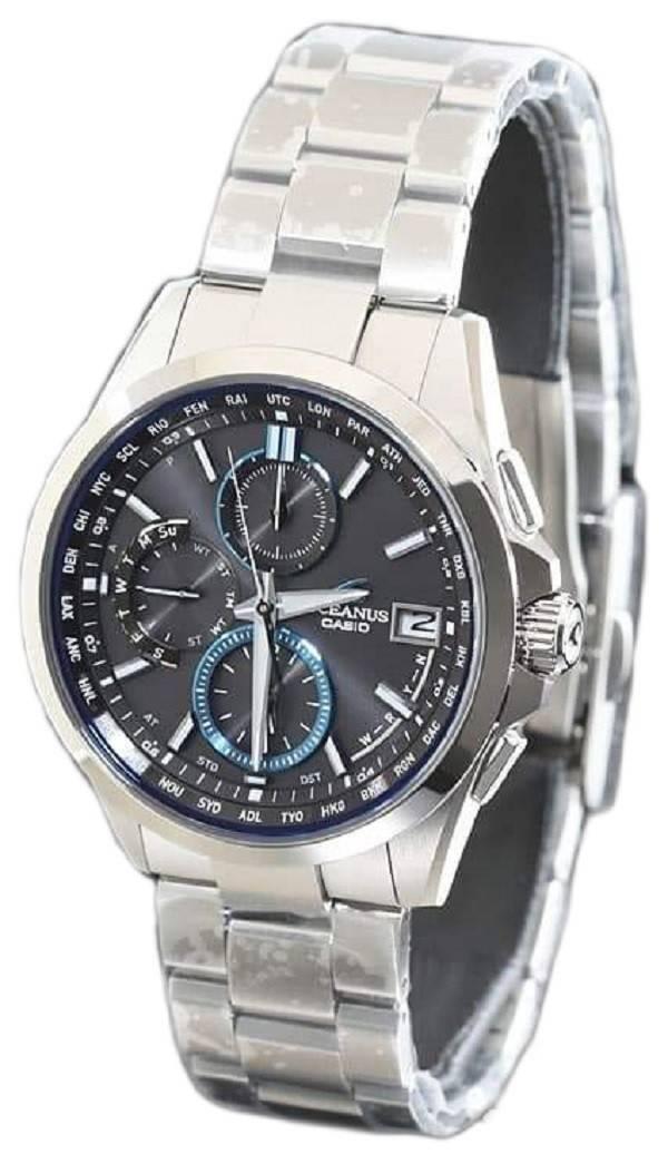 c23c47c13f9 Casio Oceanus OCW-T2600-1AJF Manta Wave Ceptor Tough Solar Men s Watch