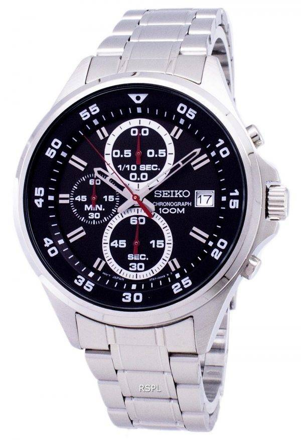 Seiko Chronograph Quartz SKS627 SKS627P1 SKS627P Men's Watch