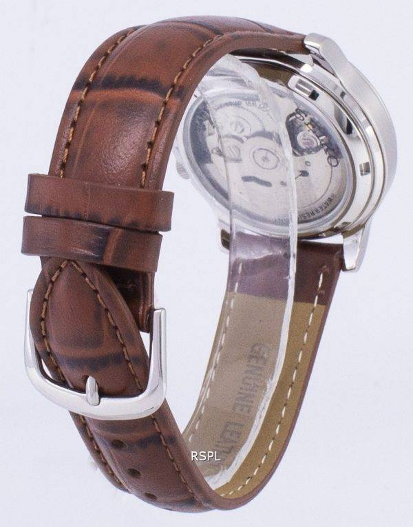 Seiko 5 Military SNK805K2-SS2 Automatic Brown Leather Strap Men's Watch