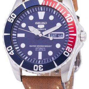 Seiko 5 Sports SNZF15K1-LS17 Automatic Brown Leather Strap Men's Watch