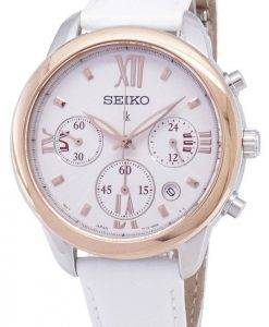 Seiko Lukia Chronograph Quartz SRWZ84 SRWZ84P1 SRWZ84P Women's Watch
