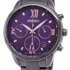 Seiko Lukia Chronograph Quartz SRWZ86 SRWZ86P1 SRWZ86P Women's Watch