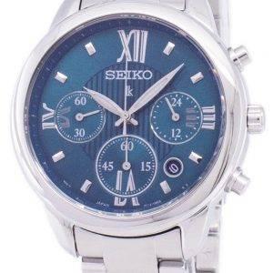 Seiko Lukia Chronograph Quartz SRWZ93 SRWZ93P1 SRWZ93P Women's Watch