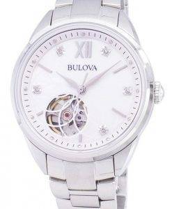 Bulova Automatic 96P181 Diamond Accents Women's Watch