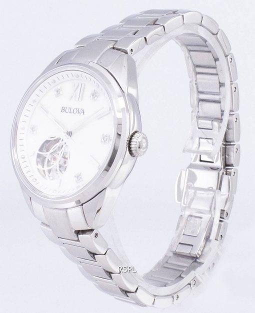 Bulova Automatic 96P181 Diamond Accents Women's Watch