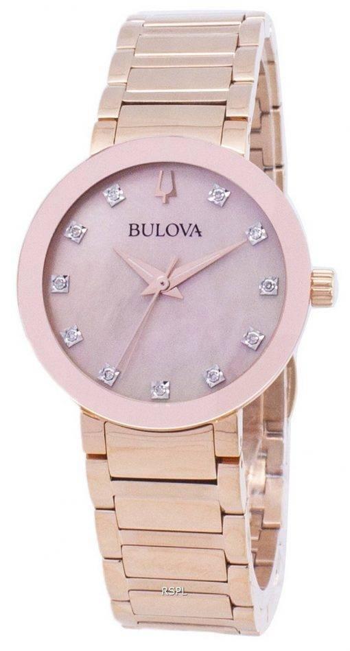 Bulova Modern 97P132 Diamond Accents Quartz Women's Watch