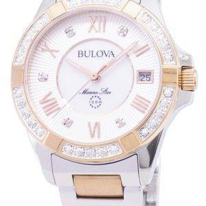 Bulova Marine Star 98R234 Diamond Accent Quartz Women's Watch