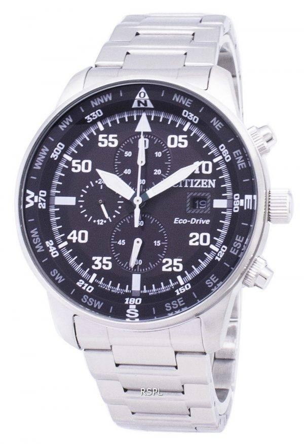 Citizen Aviator CA0690-88E Eco-Drive Chronograph Men's Watch