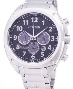 Citizen Eco-Drive CA4310-54E Super Titanium Chronograph Men's Watch