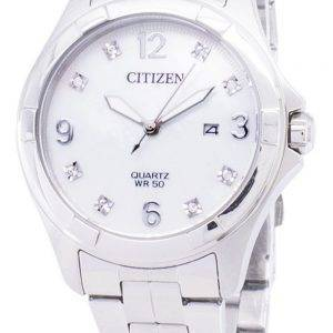 Citizen Quartz EU6080-58D Diamond Accents Women's Watch