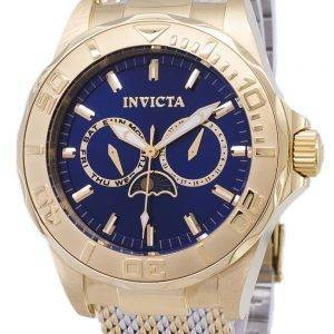 Invicta Pro Diver 24993 Moon Phase Analog Quartz Men's Watch