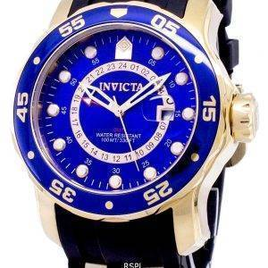 Invicta Pro Diver 6993 GMT Analog Quartz Men's Watch