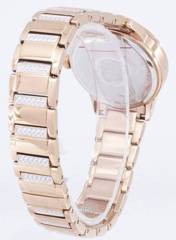 Bulova Crystal TurnStyle 98L247 Quartz Diamond Accents Women's Watch