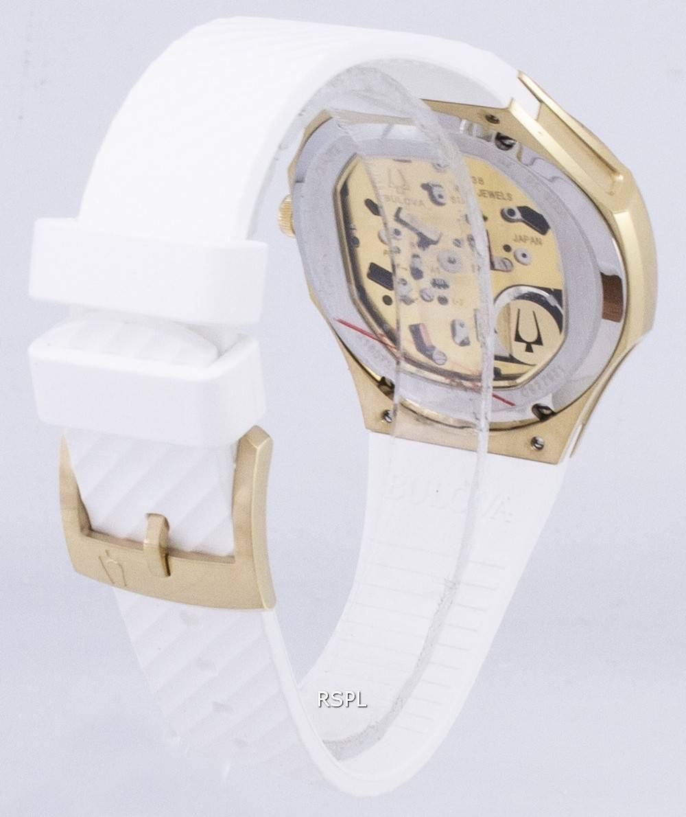 0231c3db8 Bulova CURV 98R237 Quartz Diamond Accents Women's Watch Singapore