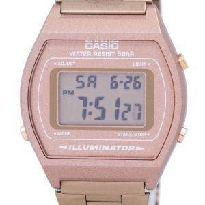 Casio Digital Quartz Stainless Steel 50M Illuminator B640WC-5ADF B640WC-5A Mens Watch