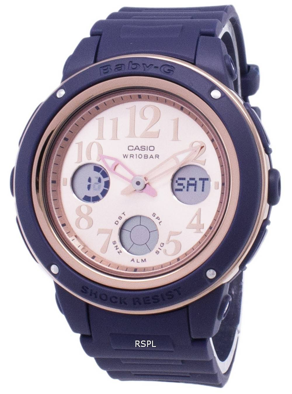 6062e015336 Casio Baby-G BGA-150PG-2B1 Illumination Analog Digital Women s Watch ...