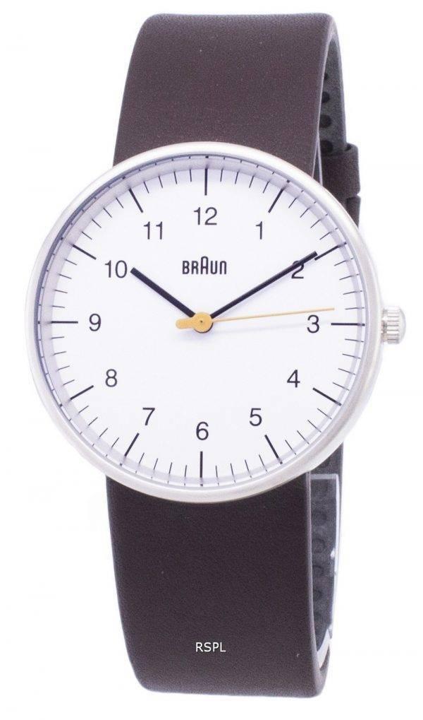Braun Classic BN0021WHBRG Analog Quartz Men's Watch