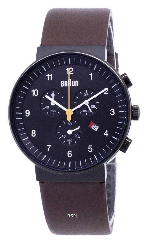 Braun Classic BN0035BKBRG Chronograph Quartz Men's Watch
