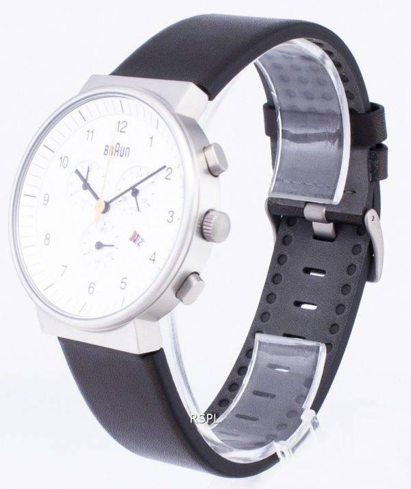 Braun Classic BN0035WHBKG Chronograph Quartz Men's Watch