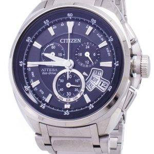 Citizen Attesa Eco-Drive BY0020-59E Titanium Analog Men's Watch