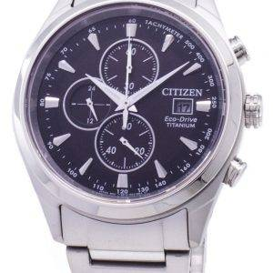 Citizen Eco-Drive CA0650-82F Chronograph Titanium Men's Watch