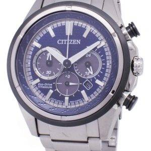 Citizen Eco-Drive CA4240-58L Titanium Chronograph Men's Watch