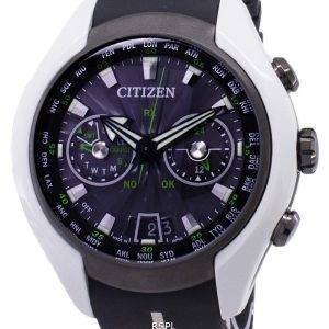 Citizen Eco-Drive CC1064-01E Satellite Wave Japan Made Analog 200M Men's Watch