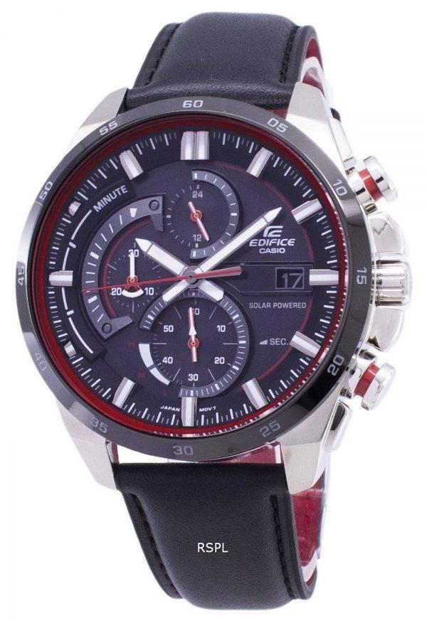 Casio Edifice EQS-600BL-1A  Solar Chronograph Men's Watch