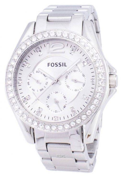 Fossil Riley Multifunction Crystal Dial ES3202 Womens Watch