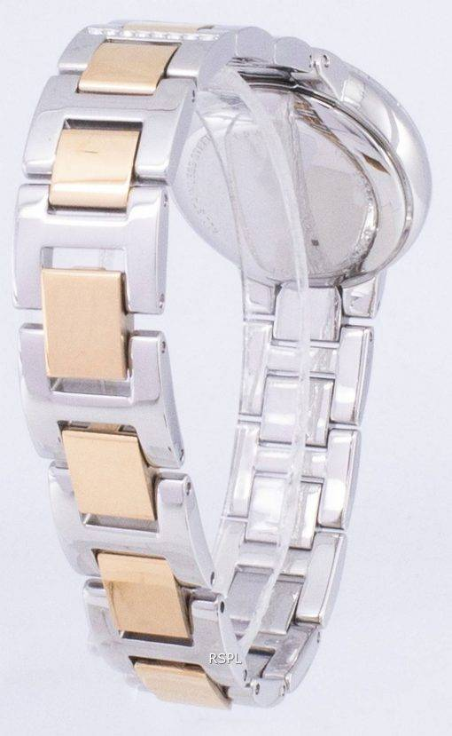Fossil Virginia Rose Dial Crystal Two-tone ES3405 Womens Watch