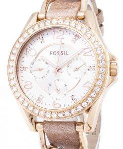 Fossil Riley Multifunction Crystals ES3466 Womens Watch
