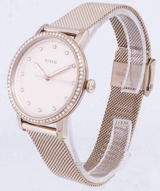 Fossil Neely Quartz Diamond Accent ES4364 Women's Watch