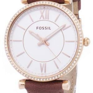 Fossil Carlie ES4428 Diamond Quartz Analog Women's Watch