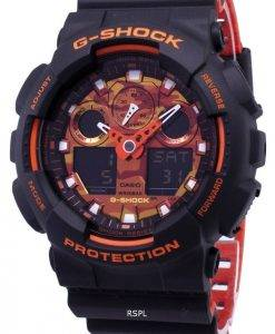 Casio G-Shock GA-100BR-1A GA100BR-1A Analog Digital 200M Men's Watch