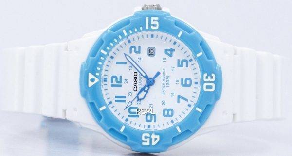 Casio Analog White Dial LRW-200H-2BVDF LRW-200H-2BV Womens Watch