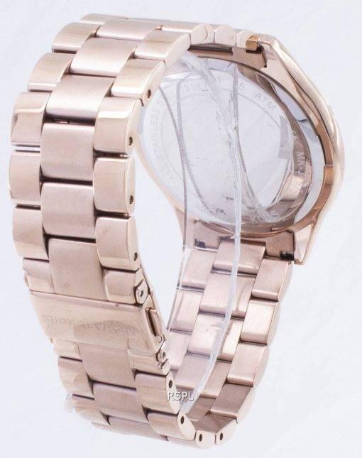 Michael Kors Runway Rose Gold Tone MK3197 Womens Watch