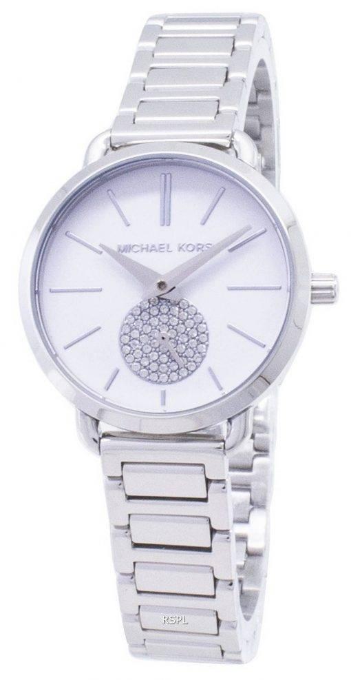 Michael Kors Petite Portia Quartz Diamond Accent MK3837 Women's Watch