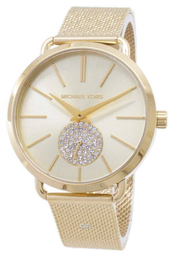 Michael Kors Portia Quartz Diamond Accent MK3844 Women's Watch