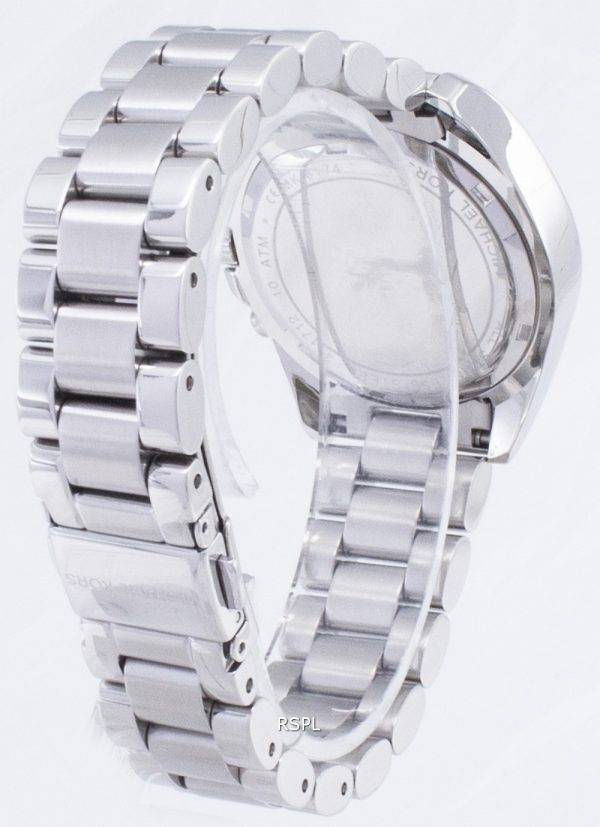 Michael Kors Bradshaw Chronograph Silver Dial MK6174 Womens Watch