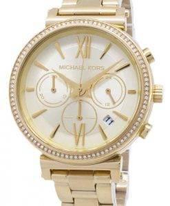 Michael Kors Chronograph Quartz Diamond Accent MK6559 Women's Watch
