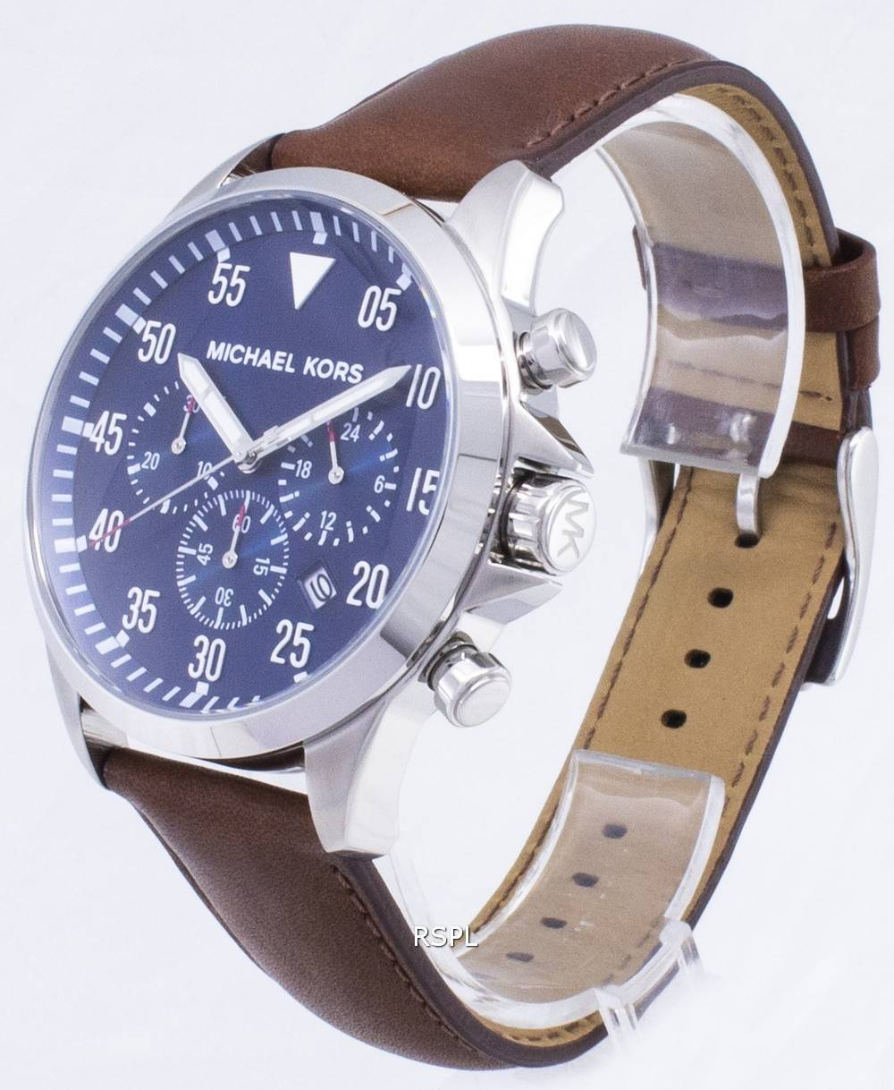 1e264c704 Michael Kors Gage Chronograph Blue Dial MK8362 Mens Watch Singapore