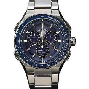 Seiko Astron SBXB127 GPS Solar Titanium Power Reserve Chronograph Men's Watch
