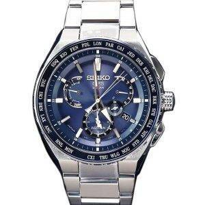 Seiko Astron SBXB155 GPS Solar Titanium Power Reserve Japan Made Men's Watch