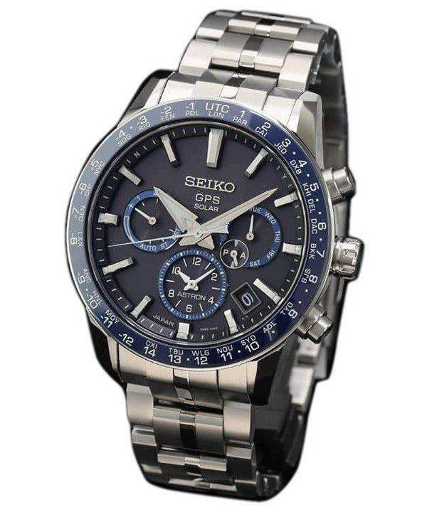 Seiko Astron SBXC001 GPS Titanium Power Reserve Japan Made Men's Watch