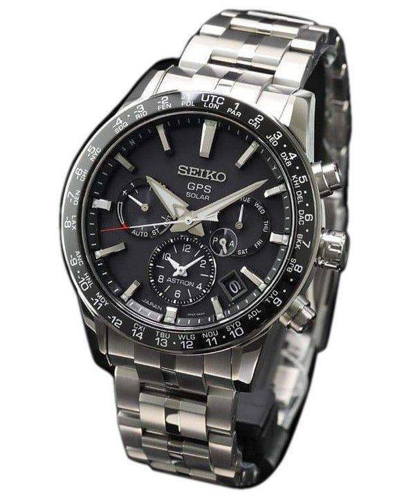 Seiko Astron SBXC003 Titanium GPS Solar Power Reserve Japan Made Men's Watch