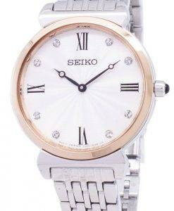 Seiko Quartz SFQ798 SFQ798P1 SFQ798P Diamond Accents Women's Watch